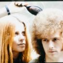 Charlotte Martin and Eric Clapton  London in summer 1967 - 454 x 313