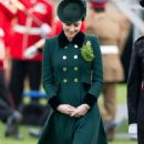 Kate Middleton – 2017 Annual Irish Guards St Patrick's Day Parade in London - 454 x 800