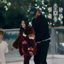Kourtney Kardashian – Ice skating at a Christmas party in Thousand Oaks - 454 x 635