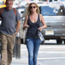 Emily VanCamp in Jeans out in New York City - August 23, 2016 - 454 x 610