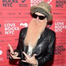 Billy Gibbons attends the Third Annual Love Rocks NYC Benefit Concert for God's Love We Deliver on March 07, 2019 in New York City - 399 x 600
