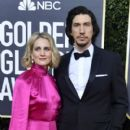 Joanne Tucker and Adam Driver At The 77th Golden Globe Awards (2020) - 400 x 600