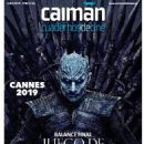 Game of Thrones - Caiman Cuadernos De Cine Magazine Cover [Spain] (June 2019)