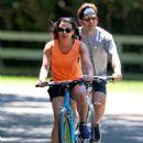 Lea Michele – Bike Riding in The Hamptons - 454 x 611
