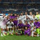 Los Blancos secured a 5-3 victory over Reims to win the Bernabeu Trophy