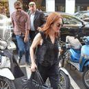Julianne Moore at Milan Fashion Week in Milan