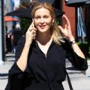 Kelly Rutherford was seen heading to a salon in Beverly Hills, California on March 31, 2017 - 450 x 600