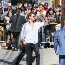 Chris Hemsworth Hits 'Jimmy Kimmel Live'