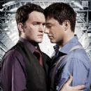 Gareth David-Lloyd and John Barrowman