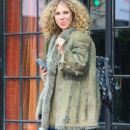 Juno Temple is seen leaving The Bowery Hotel in New York City, New York on March 31, 2016 - 351 x 600