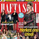 Hülya Avsar, Ahu Yagtu, Cem Yilmaz, Azra Akin, Merve Özbey - Haftasonu Magazine Cover [Turkey] (18 November 2015)
