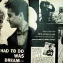 Sal Mineo - Movie Life Magazine Pictorial [United States] (September 1958)