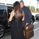 Kim Kardashian: getting a pedicure at a nail salon in Beverly Hills