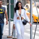 Chanel Iman – Out and about in NYC - 454 x 633