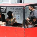 Jenna Dewan-Tatum is seen out with her daughter Everly Tatum at a farmer's market in Studio City, California on March 26, 2017 - 454 x 357