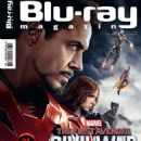 Captain America: Civil War - Blu ray Magazine Cover [Germany] (August 2016)