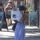 Vanessa Hudgens Leaves Joan's on Third in Studio City