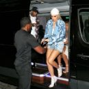 Kylie Jenner arrives at the Jonathan Simkhai fashion show in Nw York City September 10, 2016