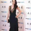 Laura Mennell – Mipcom 2018 Opening Red Carpet in Cannes - 454 x 681