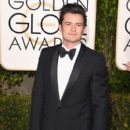 Orlando Bloom attends the 73rd Annual Golden Globe Awards held at the Beverly Hilton Hotel on January 10, 2016 in Beverly Hills, California - 399 x 600