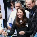 Kate Middleton at The London Marthon - 454 x 556