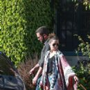 Ana De Armas with Ben Affleck – Spotted in neighborhood in Santa Monica