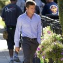 Ryan Phillippe On The Set Of 'The Lincoln Lawyer'