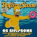 The Simpsons, Homer Simpson, The Simpsons Movie - Rolling Stone Magazine Cover [Brazil] (July 2007)