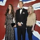 They're one of the most beloved couples in the world, and Prince William and Kate Middleton are the subjects of a newly-unveiled wax figure project. (August 17)