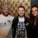 Maria and Mike Bennett pose with fans at PCW Road To Glory 2014 - 454 x 303