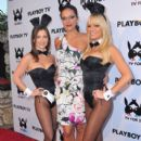 Adrianne Curry arrives to Playboy TV's