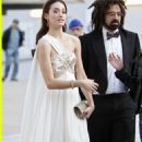 Emmy Rossum and Adam Duritz