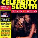 Naomi Campbell - Celebrity Sleuth Magazine Cover [United States] (December 1995)