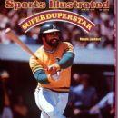 Reggie Jackson - Sports Illustrated Magazine Cover [United States] (17 June 1974)