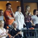 Kate Upton at the Minute Maid Park in Houston - 454 x 303