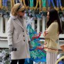 Mila Kunis – Filming 'A Bad Moms Christmas' set in Atlanta - 454 x 703