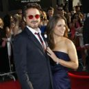 Robert Downey, Jr. and Susan Levin - 415 x 594