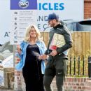 Danielle Armstrong – Showing baby bump with Tom Edney in Essex - 454 x 611