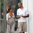 Nia Long and Ime Udoka - 454 x 654