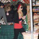 Paris Hilton And Her Boyfriend Doug Reinhardt Go Shopping For Christmas Decorations At Mr. Greentrees, December 6 2009