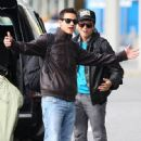 Bronson Pelletier and Kiowa Gordon in Vancouver