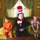 Spencer Breslin, Mike Myers and Dakota Fanning in Universal's Dr. Seuss' The Cat In The Hat - 2003