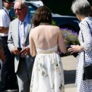 Claire Foy – Wimbledon Tennis Championships 2019 in London - 454 x 742