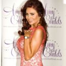 AMY CHILDS at Her Spring/Summer 2013 Clothing Collection Launch in London - 454 x 684