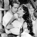 Paul Newman and Lita Milan
