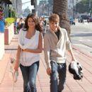 Justin Bieber & Selena Gomez @ Santa Monica Pier Sunday February 6, 2011