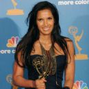 Padma Lakshmi - 62 Annual Primetime Emmy Awards Held At The Nokia Theatre L.A. Live On August 29, 2010 In Los Angeles, California