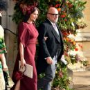 Demi Moore – Wedding of Princess Eugenie of York to Jack Brooksbank in Windsor