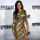 Claudia Jordan – 'Peppermint' Premiere in Los Angeles - 454 x 706