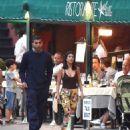 Kourtney Kardashian and Younes Bendjima – Night Out in Portofino